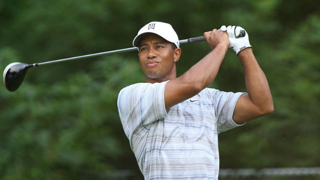 Golf pro Tiger Woods. Photo by Keith Allison via Wikimedia Commons