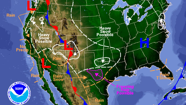 San Diego Weather Map Today.Storm Will Bring Rain Snow To San Diego Area This Weekend Times