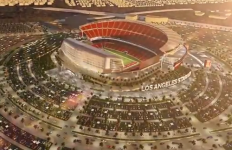 The newly proposed Los Angeles Stadium in Carson. Photo courtesy of carson2gether Youtube.