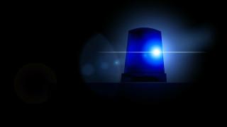 blue siren light