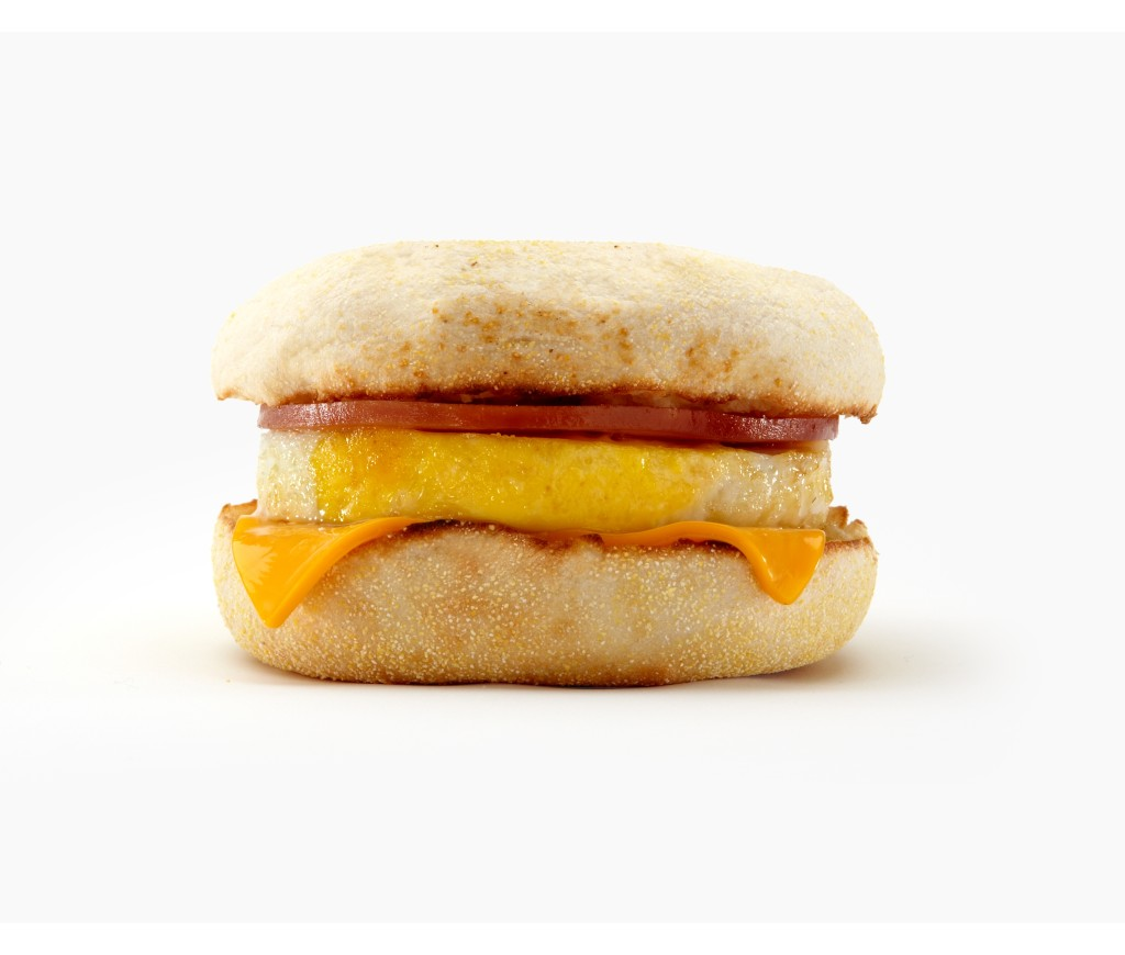 Egg McMuffin. Photo courtesy of McDonalds