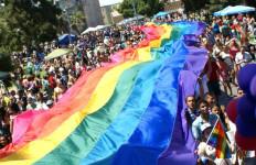 The rainbow flag at the San Diego Pride Festival. Photo courtesy of San Diego Pride Festival