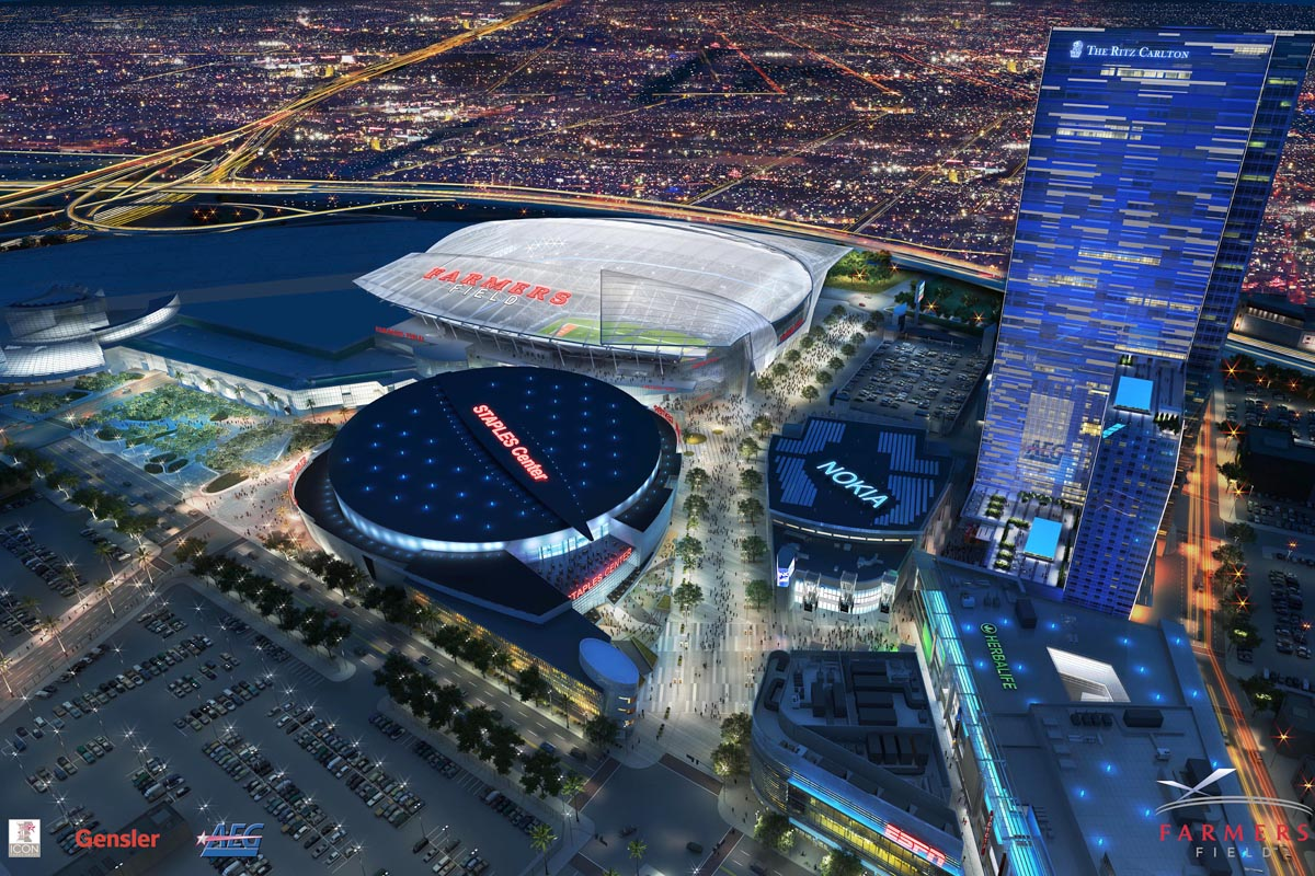 Developer Shelves Plan for 3rd LA-Area Football Stadium - Times of ...