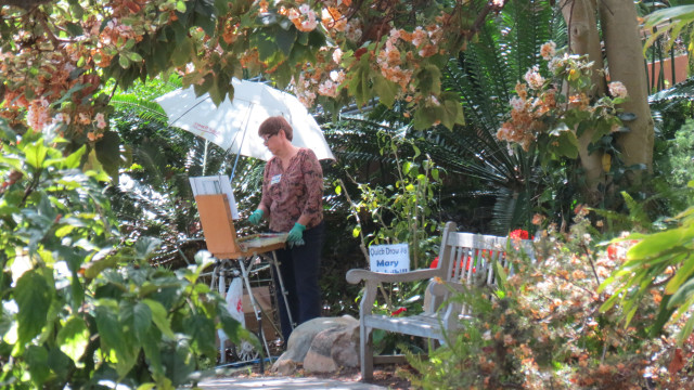 The 2015 Artfest will be April 11-12 and the San Diego Botanic Gardens in Encinitas.
