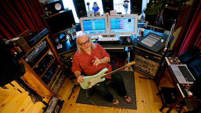 Grammy award-winning producer, engineer and mixer Ed Stasium. Photo via MiraCosta College