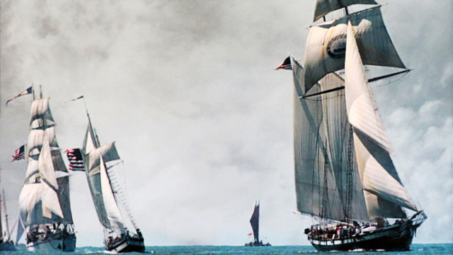 """Tall Ships Parade"" by Eric Swenson"