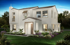 A home in the Everly development in El Cajon.