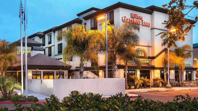 Robert Rauch's Hilton Garden Inn San Diego/Del Mar.