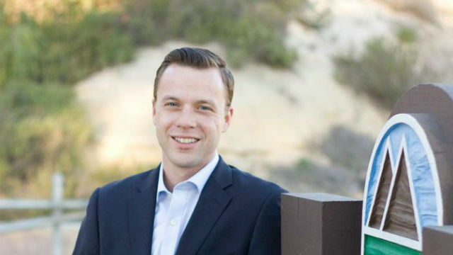 Justin DeCesare, president of the Tierrasanta Community Council and candidate for City Council in 2016.