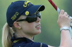 LPGA golfer Morgan Pressel. Photo by Keith Allison via Wikimedia Commons