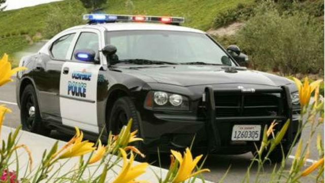 An Oceanside Police cruiser.