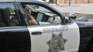 Sheriff's Department cruiser.