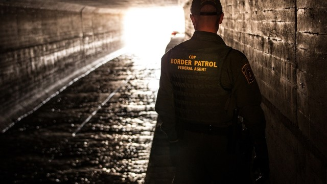 Border Patrol Agent. Photo credit: Josh Denmark/CPB