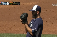 James Shields. Courtesy of Padres.com