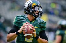Former Oregon quarterback Marcus Mariota. Courtesy of bloguin.com