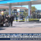 Gas station in Southcrest where police opened fire on a suspected car thief. Courtesy of ABC 10.