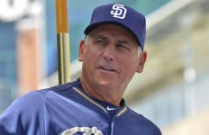 Padres Manager Bud Black  Photo by Chris Stone