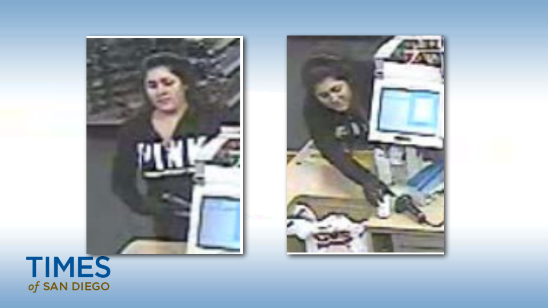 This woman threatened to shoot a CVS pharmacy clerk if she did not get her Percocet. Photo courtesy of the San Diego Sheriff's Department