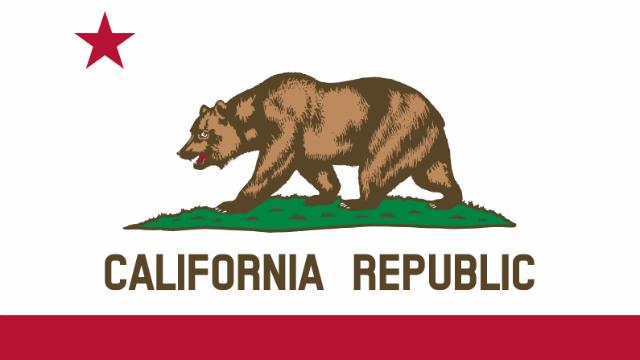 The California state flag. Image via Wikimedia Commons