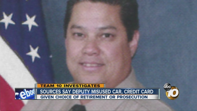 Chris Machitar admitted to illegally using county car. Photo courtesy of 10 News
