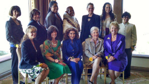 The 2015 Cool Women  and Cool Girl honorees  at the Del Mar Country Club. Photo by Chris Jennewein
