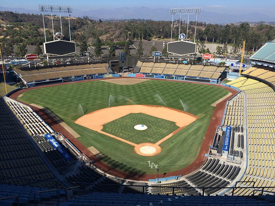 Los Angeles Baseball Stadium Dodger Stadium in Los Angeles
