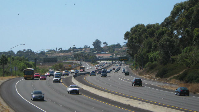Highway 78 in Oceanside. Photo by Rschen7754 via Wikimedia Commons