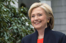 Hillary Clinton's official presidential campaign announcement photo.