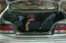 The 25-year-old Mexican found in the trunk of a 1995 Toyota Avalon. Border Patrol photo