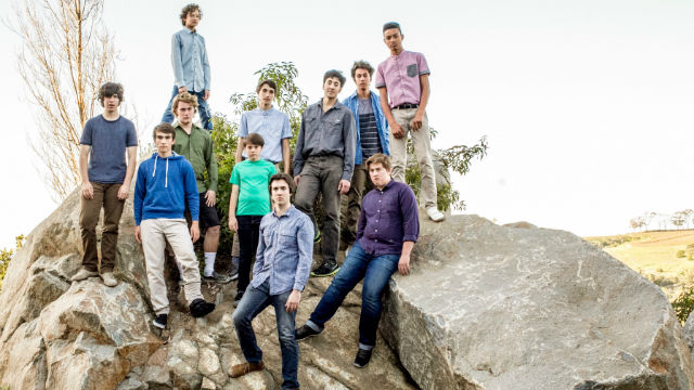"The cast of ""Lord of the Flies"" at  New Village Arts Theatre in Carlsbad."