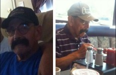 Photos of Pete Ybarra released by the San Diego Sheriff's Department.
