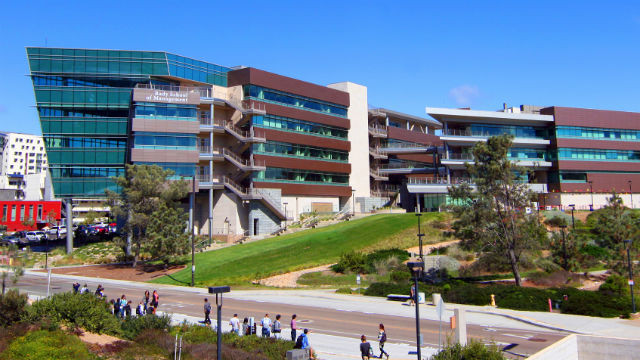 The Rady School of Management at UC San Diego.