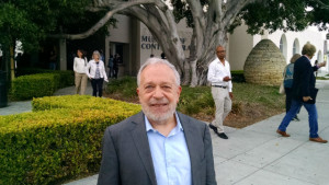 Former Labor Secretary Robert Reich outside the Museum of Contemporary Art San Diego in La Jolla. Photo by Chris Jennewein