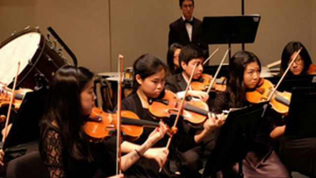 A San Diego Youth Symphony ensemble. Courtesy of the symphony