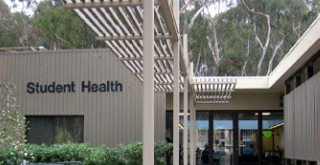 UC San Diego Student Health Services. Courtesy UCSD