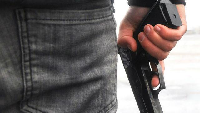 Armed man. Photo via Pixabay