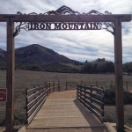 Entrance to Iron Mountain hiking trail