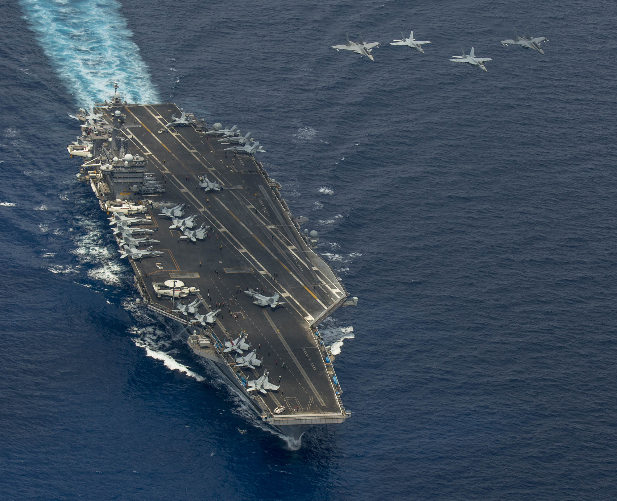 Carrier Vinson Conducts Exercises With Royal Malaysian