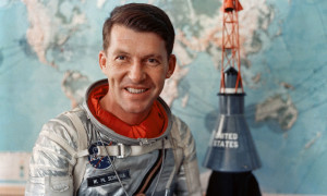 Wally Schirra, one of the original Mercury 7 astronauts, also flew Gemini and Apollo missions. Image via nasa.gov