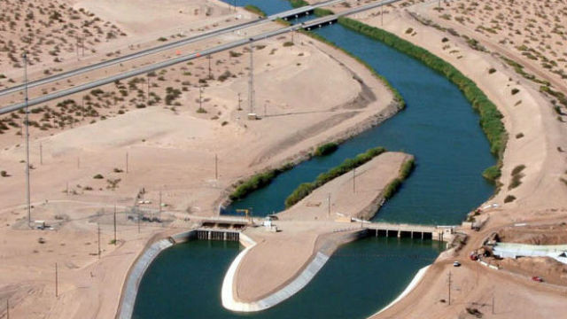 The San Diego County Water Authority is upgrading the All-American Canal in the Imperial Valley to increase water supplies from sources other than the Metropolitan Water District. Photo courtesy water authority