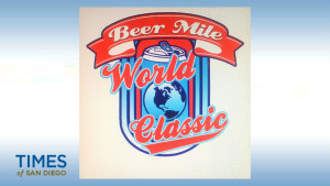 Logo of first Beer Mile World Classic, set for Aug. 22, 2015, at San Francisco's Pier 70.