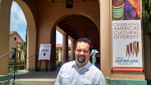 Ben Jealous outside the New Americans Museum in Liberty Station. Photo by Chris Jennewein