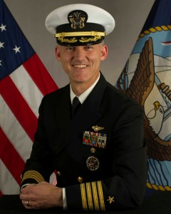 Capt Michael Baze. Navy photo