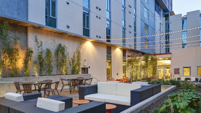 17 Story Affordable Housing Development Opens Downtown Times Of San Diego