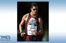 San Diego's Philip Dunn, Olympic race walker. Image via IAAF.org