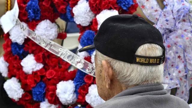 World War II veteran Elfren Solomon served in the military from 1938-1945.