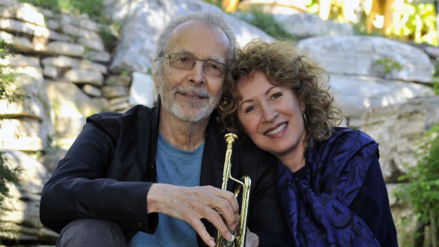 Herb Alpert and Lani Hall. Photo by Gerry Wersh