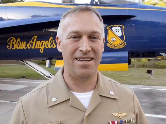 Cmdr. Ryan Bernacchi. Photo courtesy of the US Navy