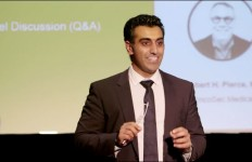 Punit Dhillon of OncoSec Medical. Image from company video