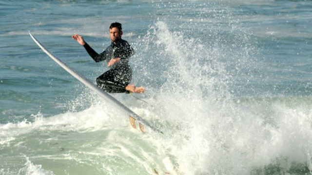 Surfing at Windansea Beach